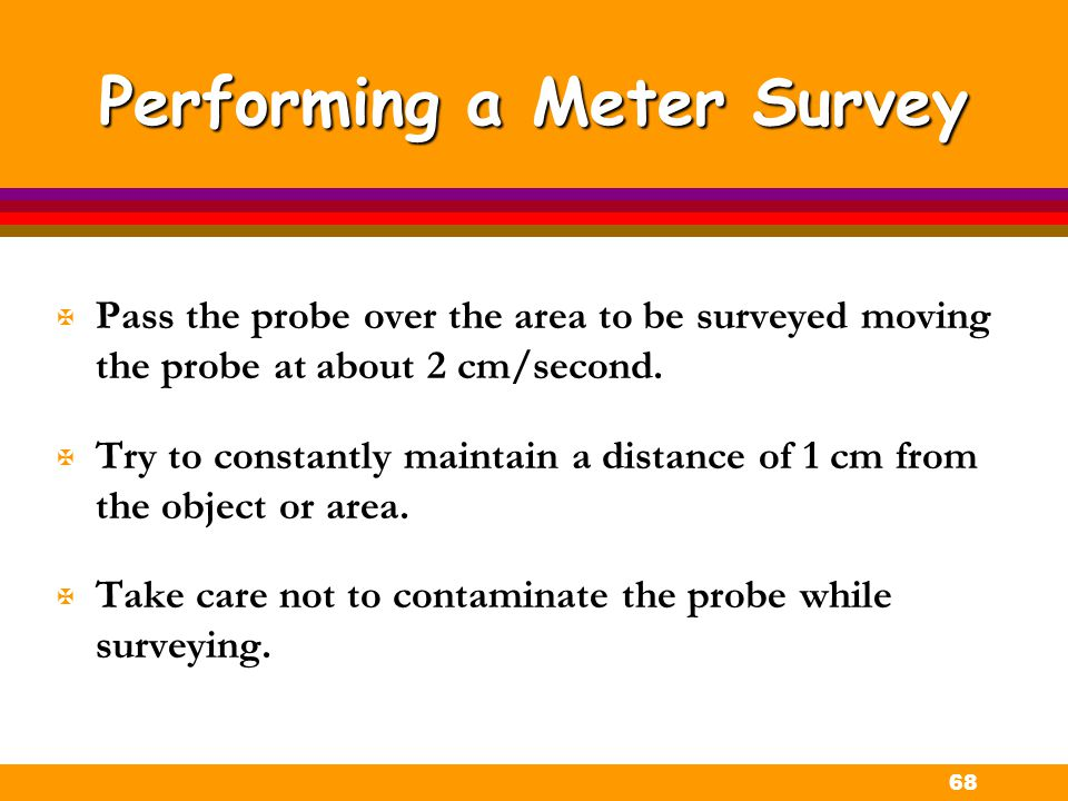 Performing a Meter Survey