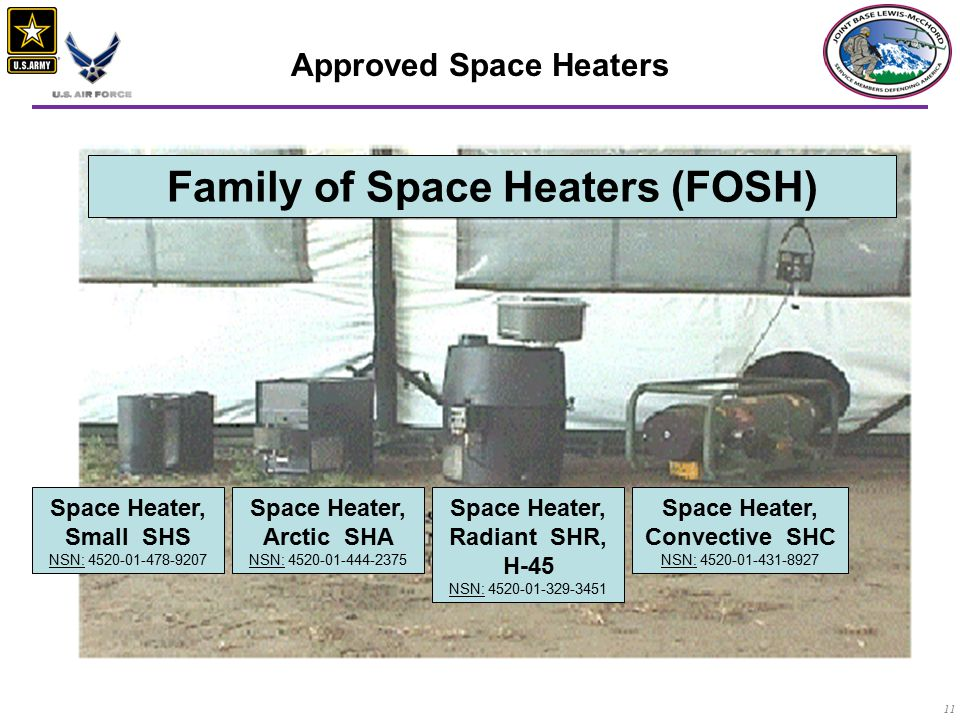 Family of Space Heaters (FOSH)