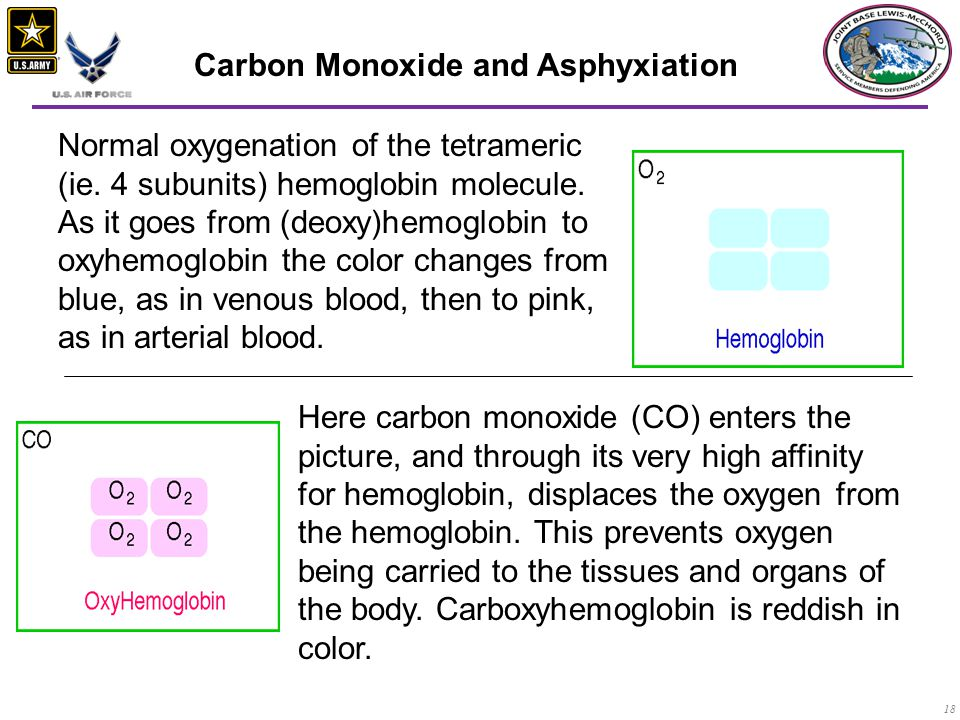 Carbon Monoxide and Asphyxiation