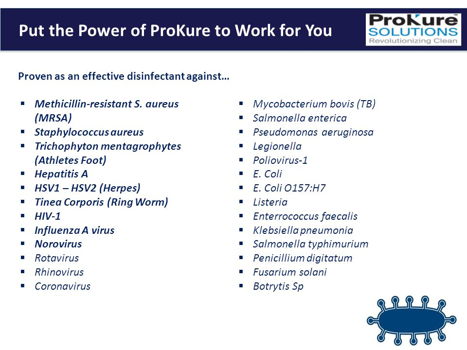 Put the Power of ProKure to Work for You