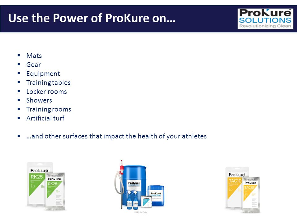 Use the Power of ProKure on…