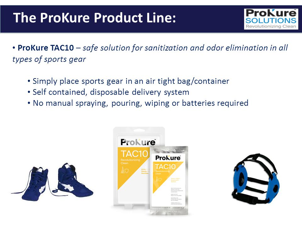 The ProKure Product Line: