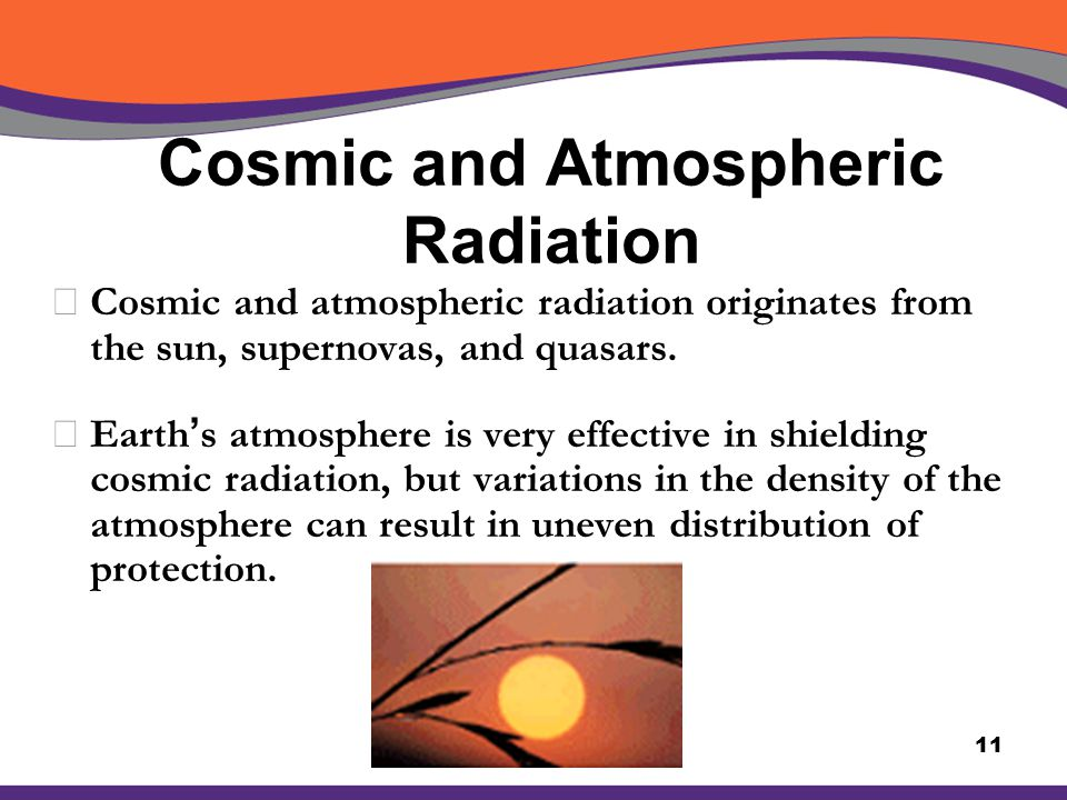 Cosmic and Atmospheric Radiation