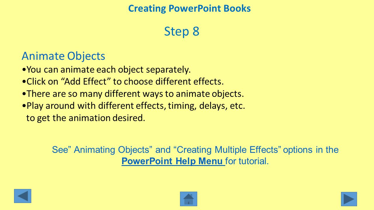 Creating PowerPoint Books