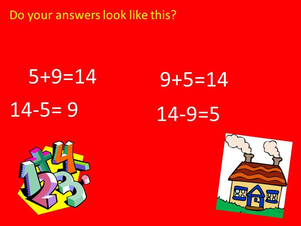 Do your answers look like this