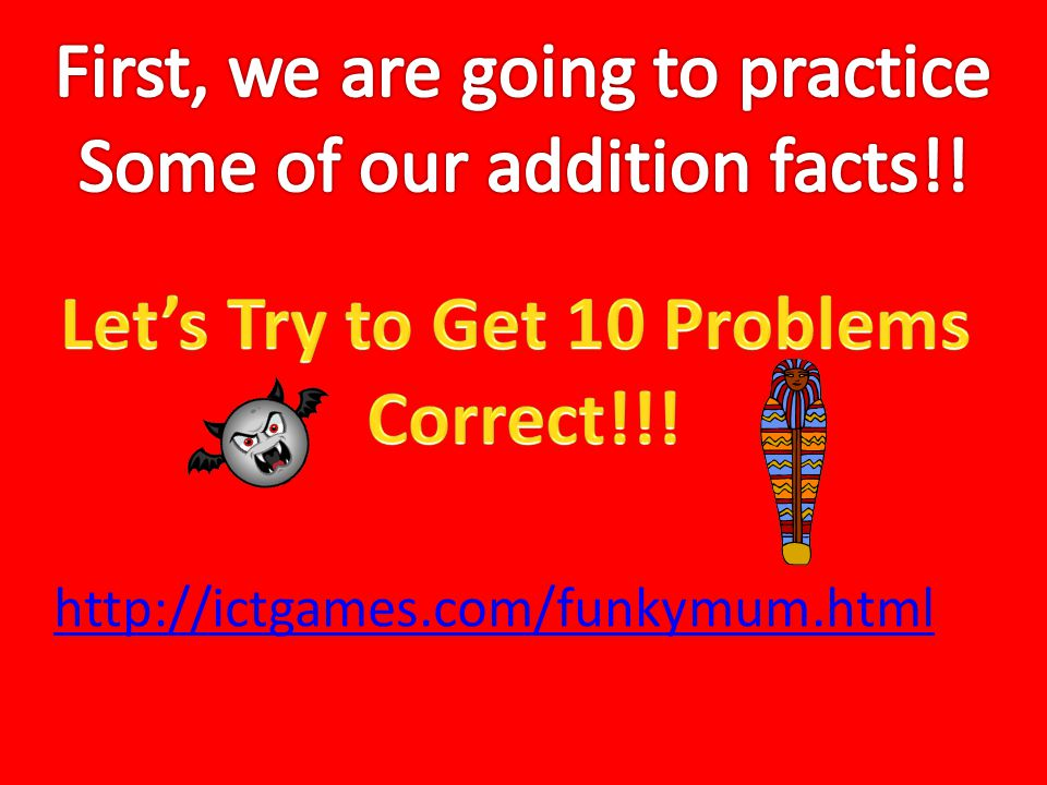 Let's Try to Get 10 Problems