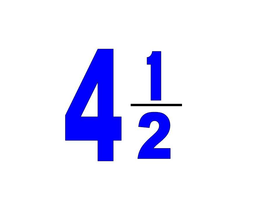 4 1 2