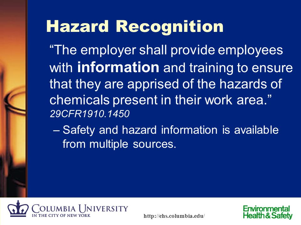 Hazard Recognition