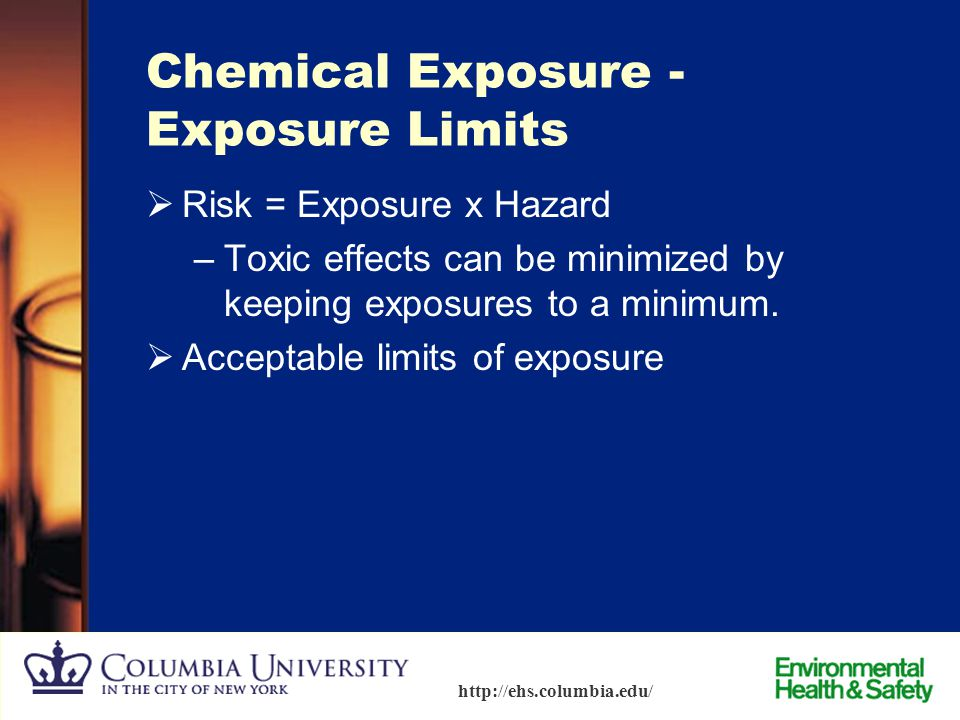 Chemical Exposure - Exposure Limits