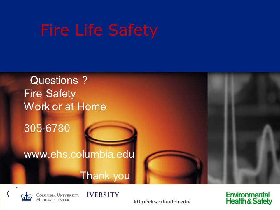 Fire Life Safety Questions Fire Safety Work or at Home 305-6780