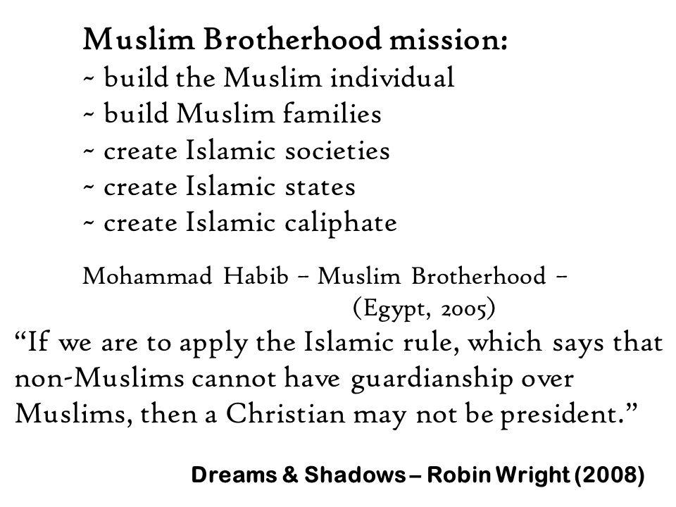 Muslim Brotherhood mission: