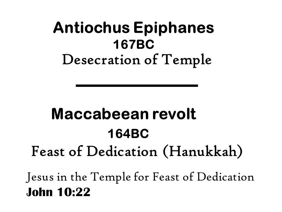 Feast of Dedication (Hanukkah)