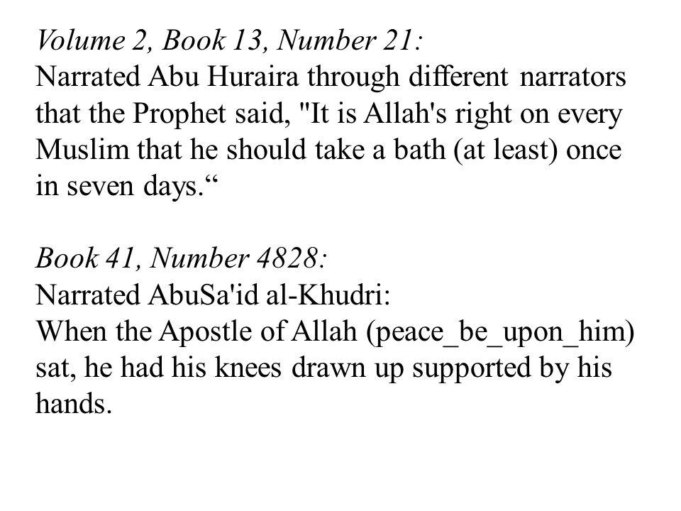 Volume 2, Book 13, Number 21: