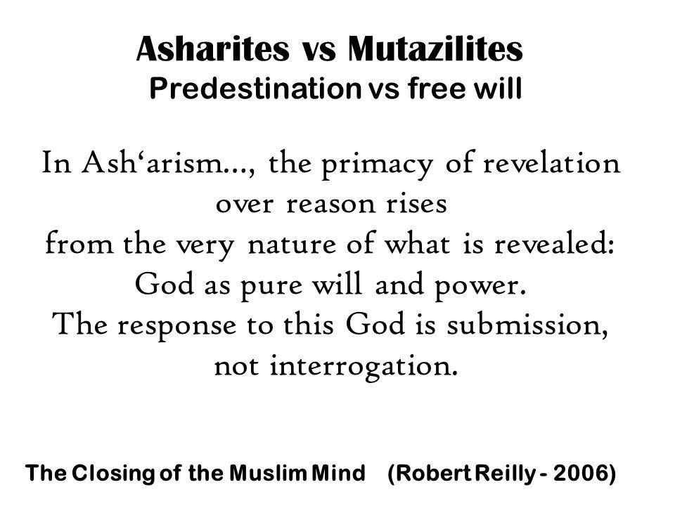 Asharites vs Mutazilites