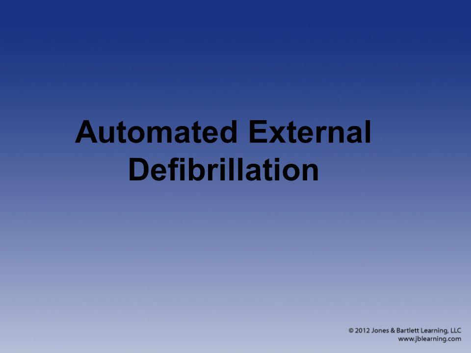 Automated External Defibrillation