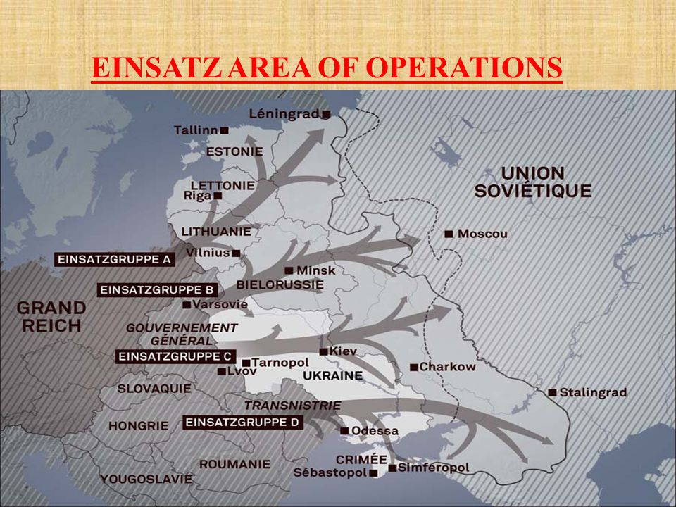 EINSATZ AREA OF OPERATIONS
