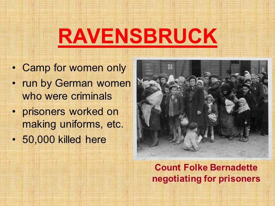 Count Folke Bernadette negotiating for prisoners