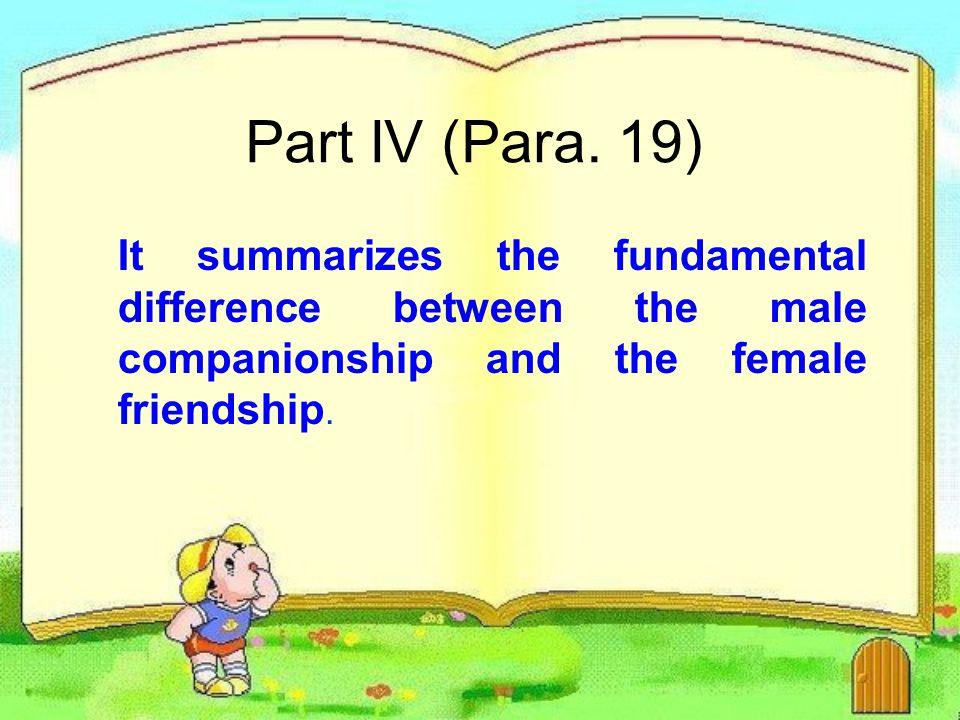 Part IV (Para.
