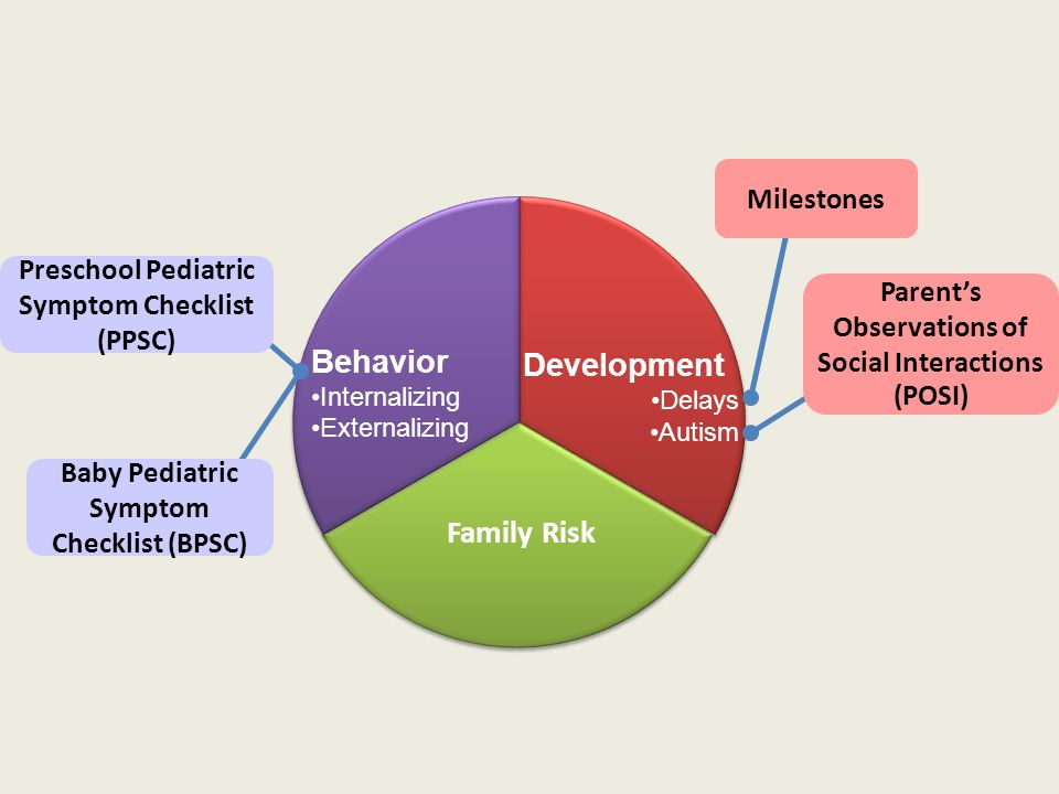 Development Behavior Family Risk Milestones