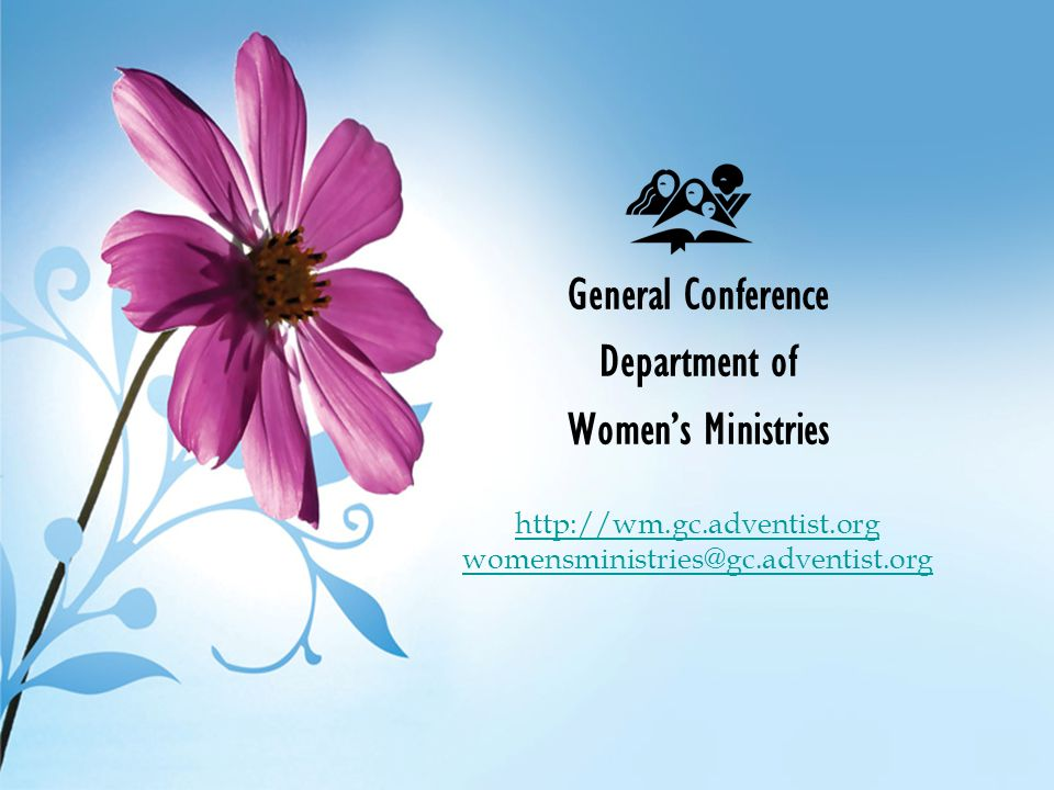 General Conference Department of Women's Ministries