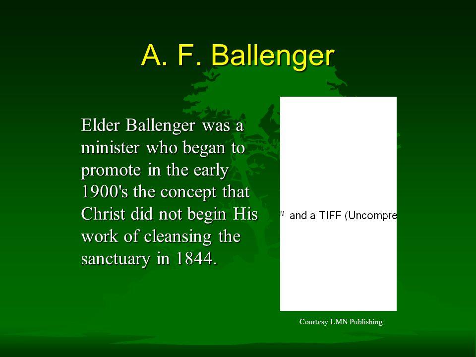 A. F. Ballenger