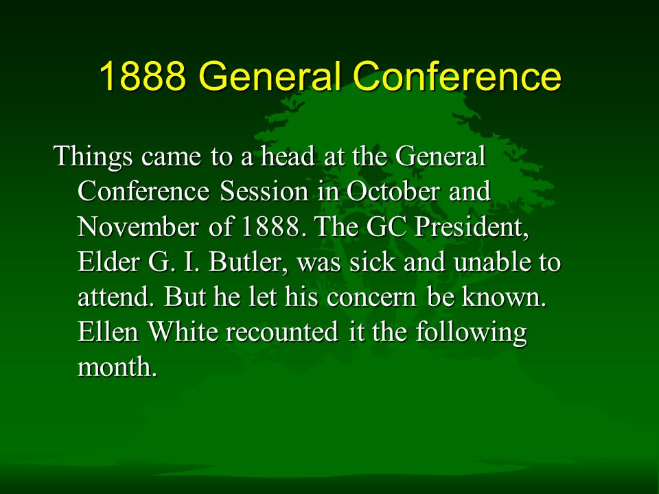 1888 General Conference