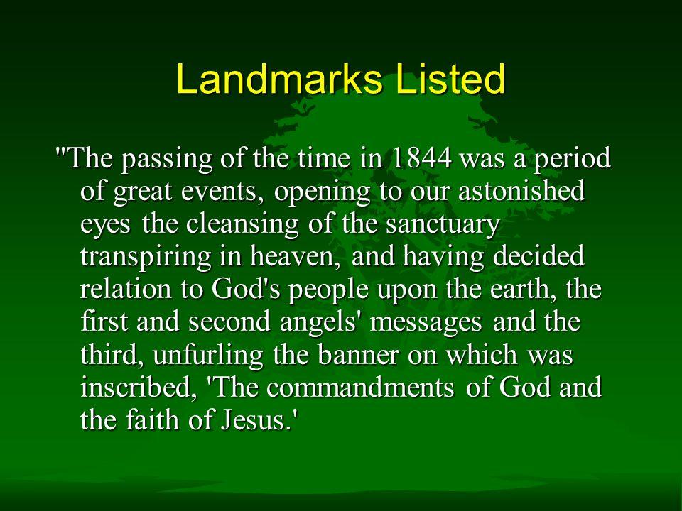 Landmarks Listed