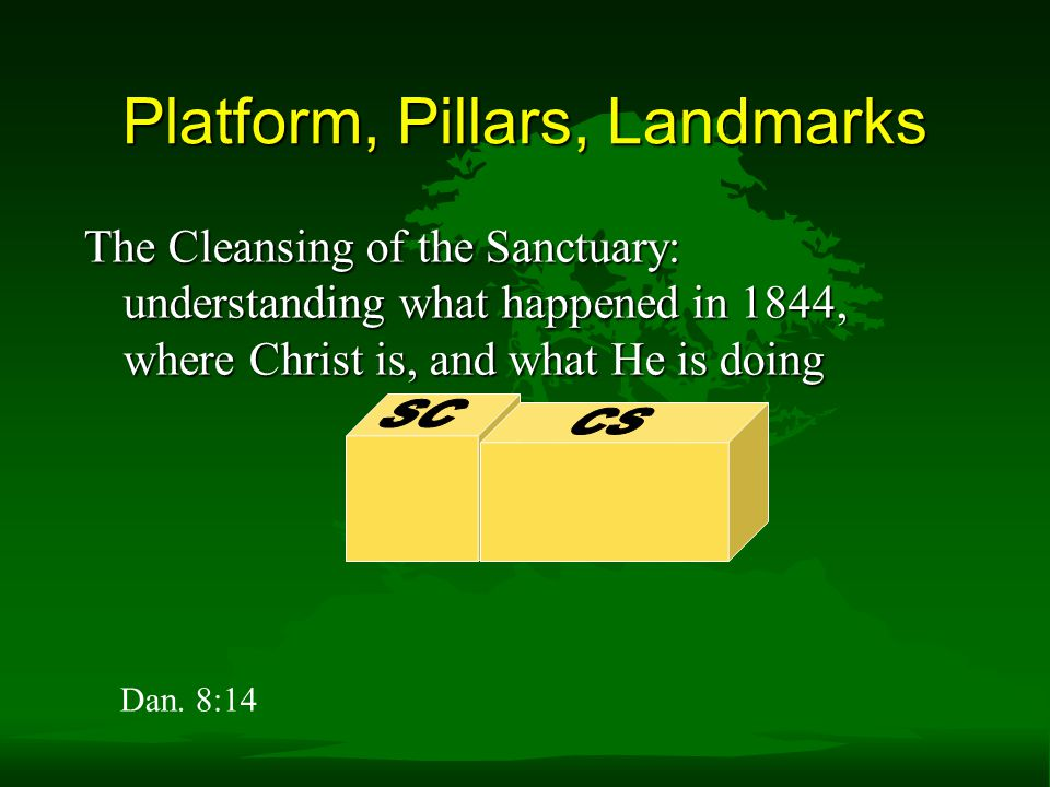 Platform, Pillars, Landmarks