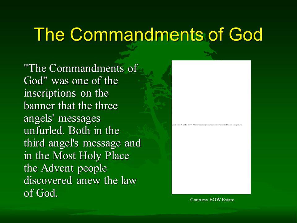 The Commandments of God