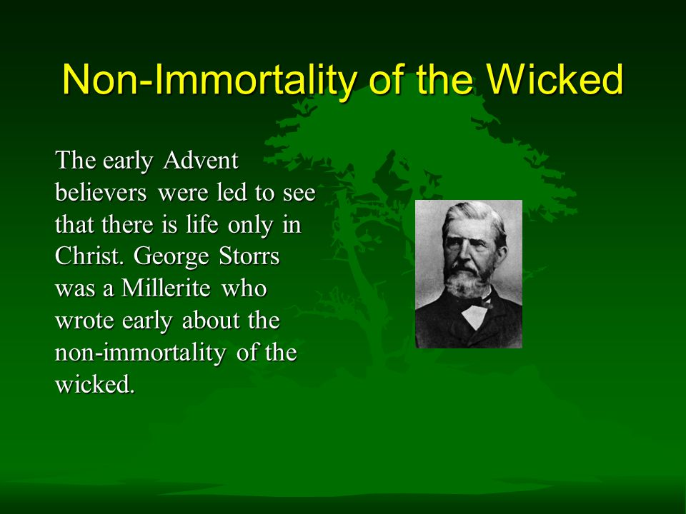 Non-Immortality of the Wicked