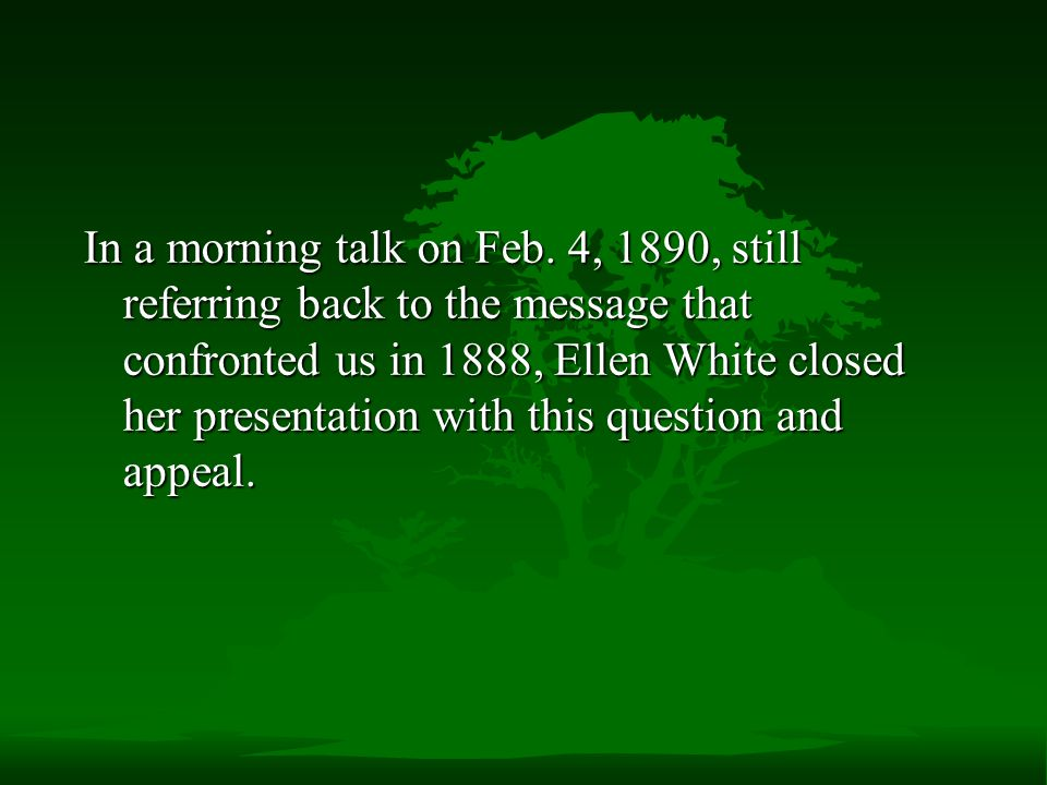 In a morning talk on Feb.