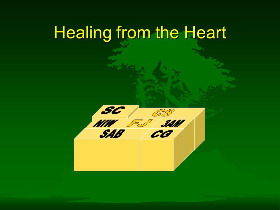 Healing from the Heart SC CS CS NIW FJ 3AM SAB CG