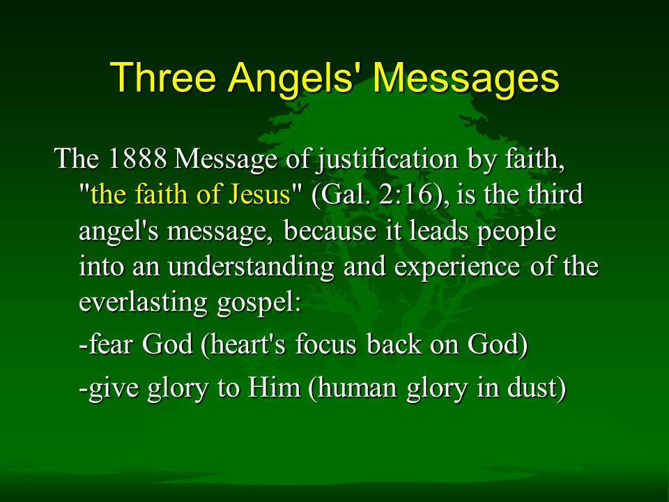 Three Angels Messages