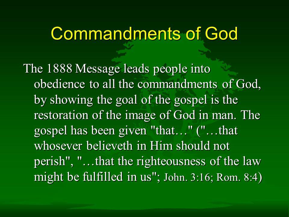 Commandments of God