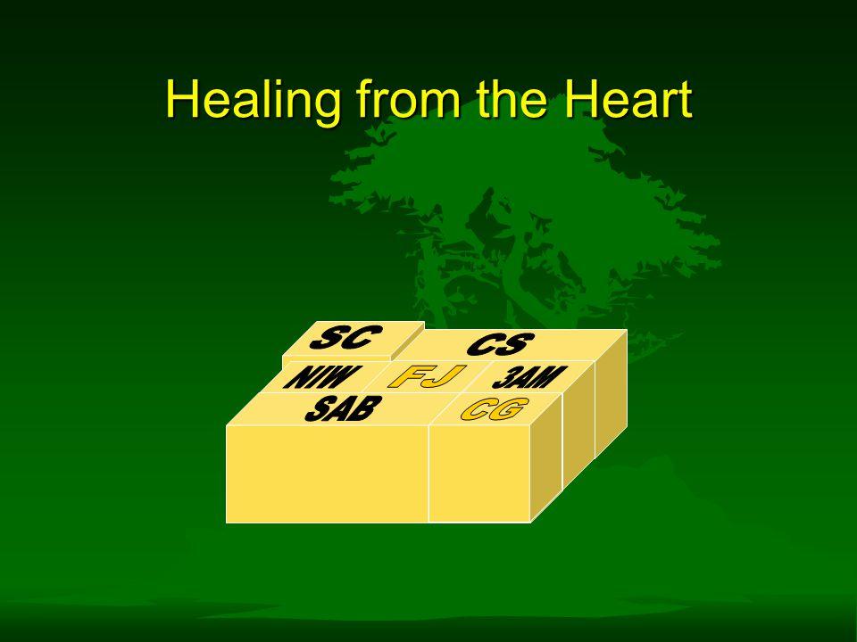 Healing from the Heart SC CS NIW FJ 3AM SAB CG CG