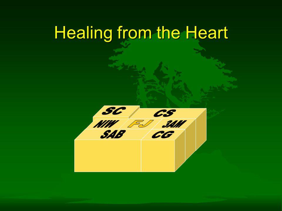 Healing from the Heart SC CS NIW FJ 3AM SAB CG