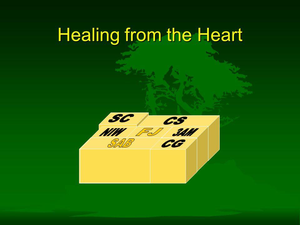 Healing from the Heart SC CS NIW FJ 3AM SAB SAB CG