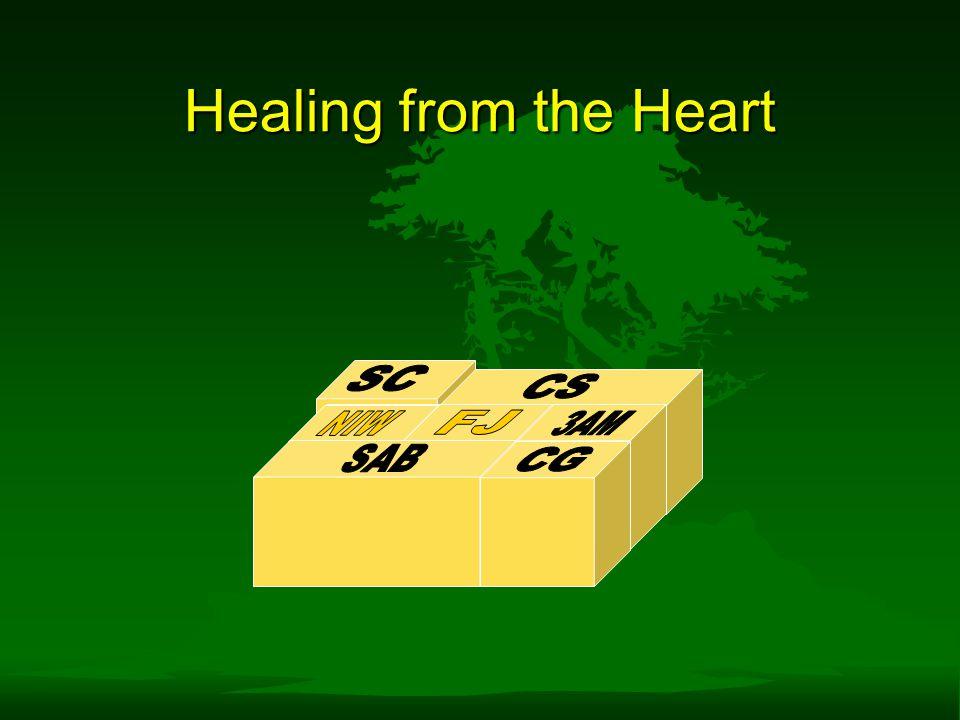 Healing from the Heart SC CS NIW NIW FJ 3AM SAB CG