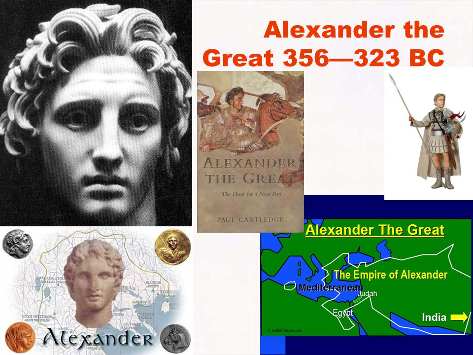Alexander the Great 356—323 BC
