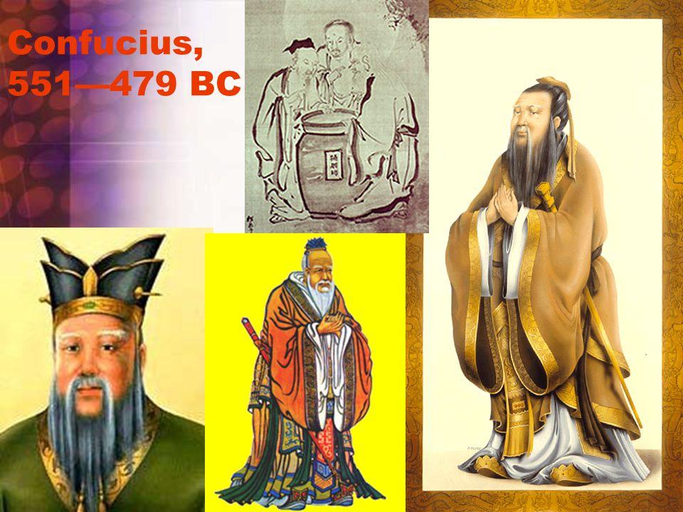 Confucius, 551—479 BC