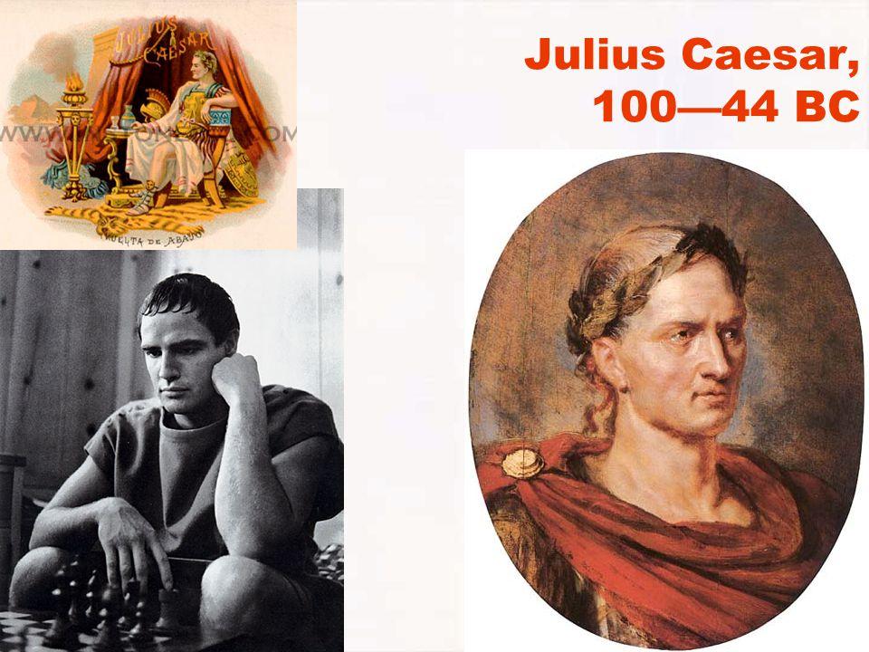 Julius Caesar, 100—44 BC