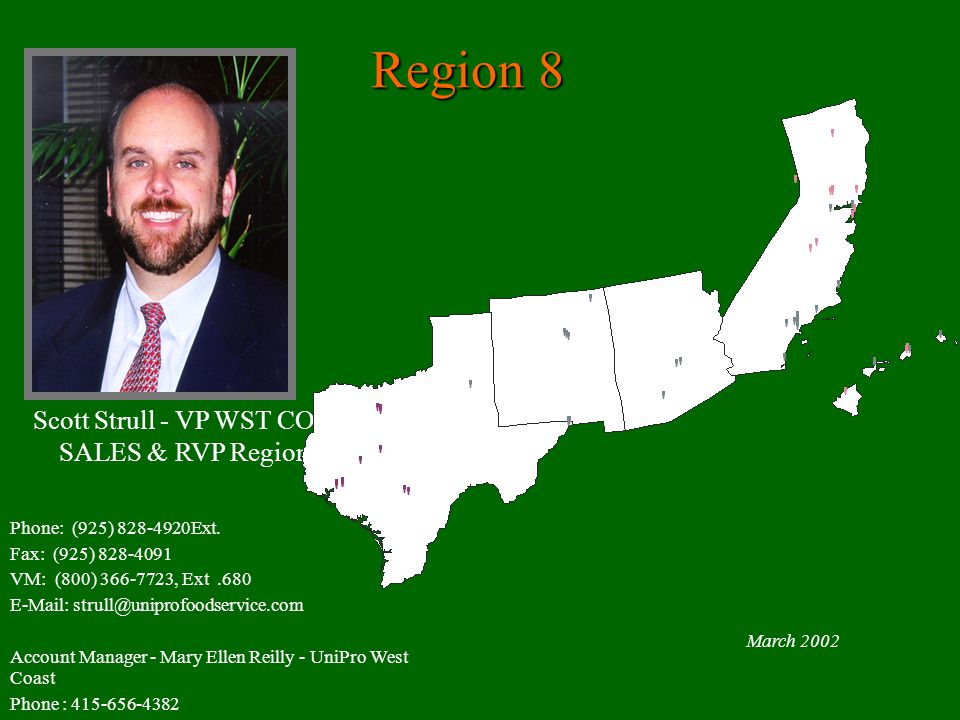 Scott Strull - VP WST COAST SALES & RVP Region #8
