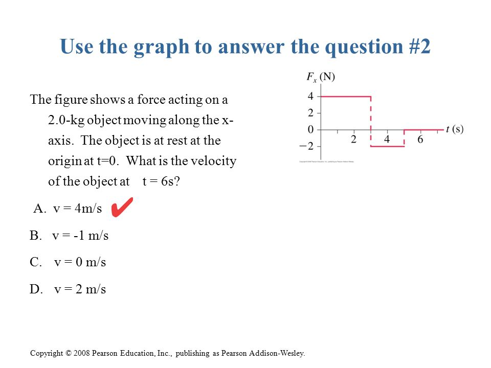 Use the graph to answer the question #2