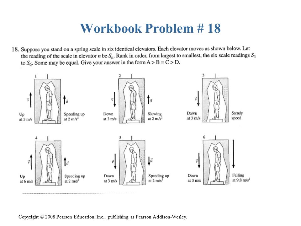 Workbook Problem # 18