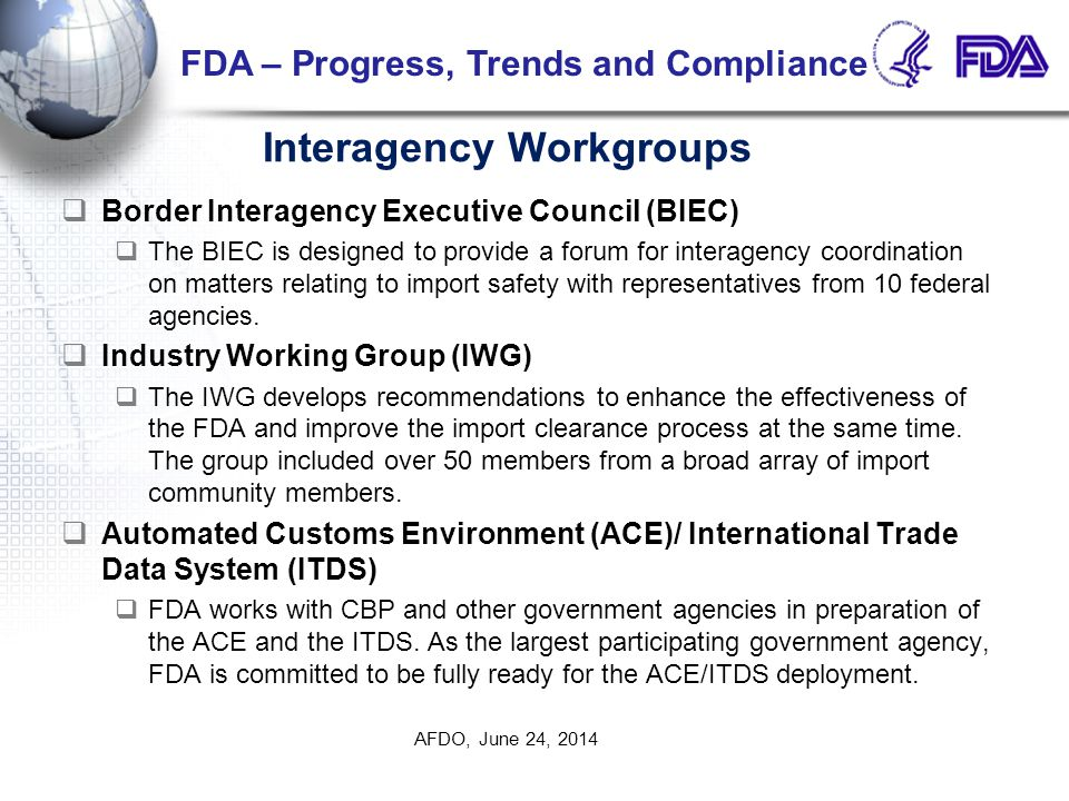 Interagency Workgroups