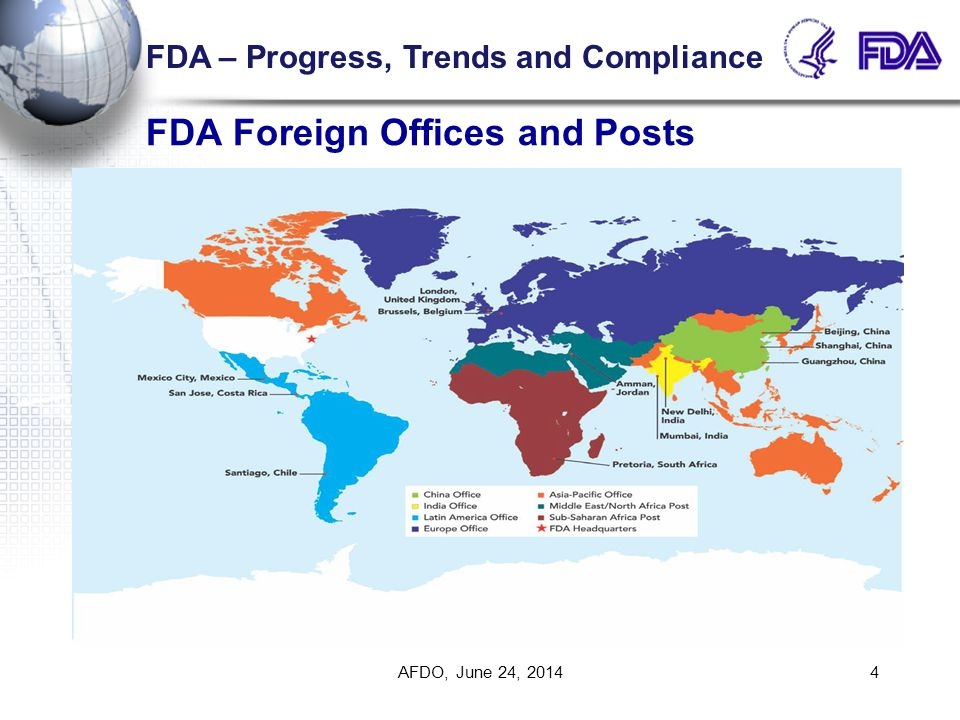 FDA Foreign Offices and Posts