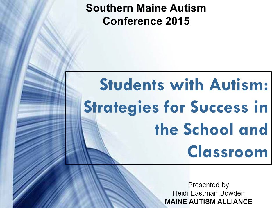 Southern Maine Autism Conference 2015