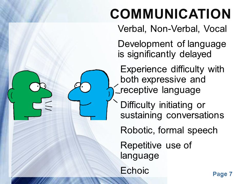 Communication Verbal, Non-Verbal, Vocal