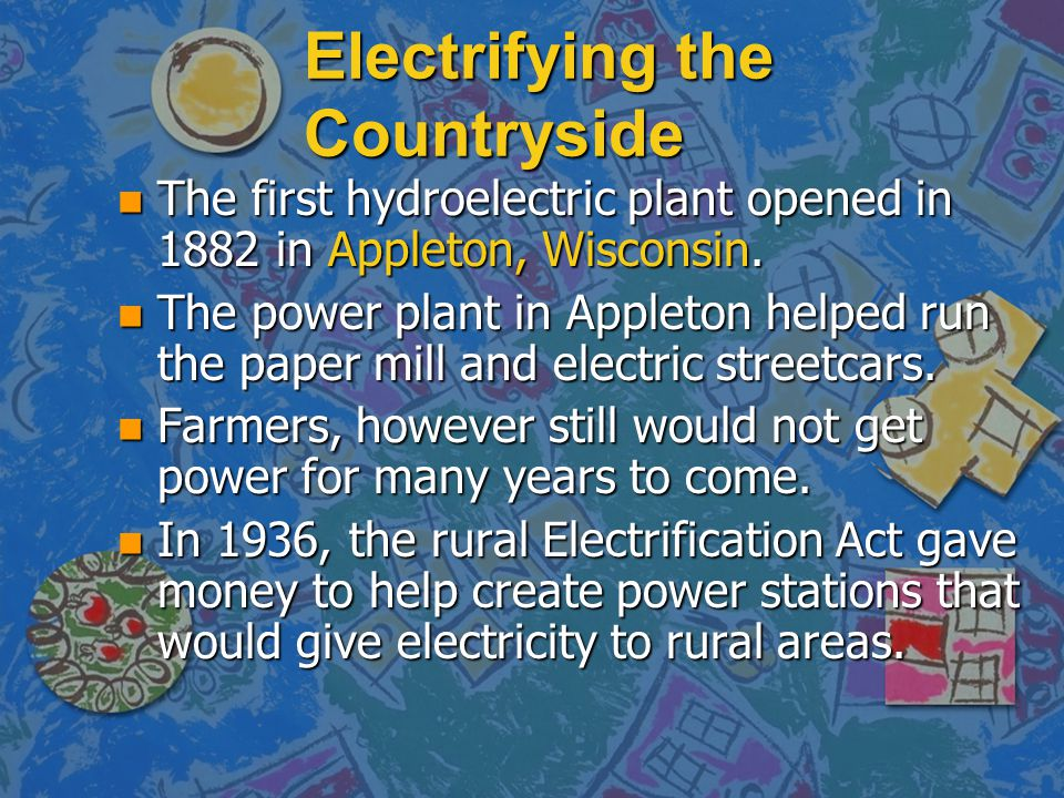 Electrifying the Countryside