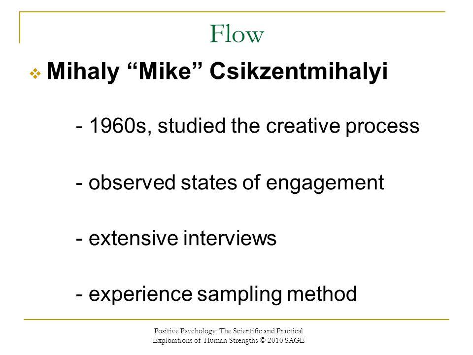 Flow Mihaly Mike Csikzentmihalyi